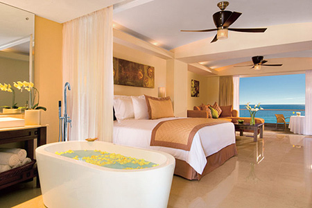 Upgrade to Our Junior Suite Preferred Club Ocean View